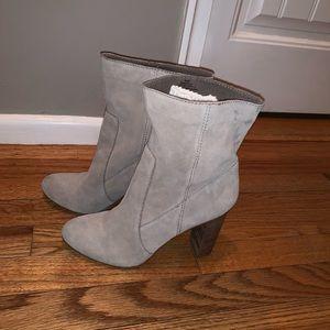 Nine West Chunky Heel Boots